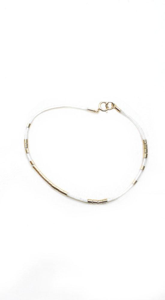 Bracelet Bracelets String 14k Gold Filled Crimp Tubes