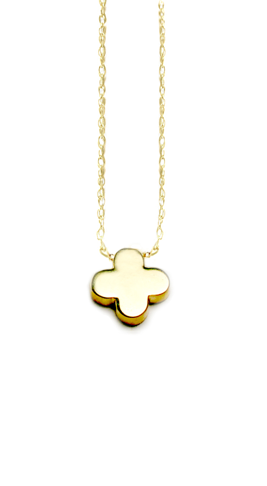 Albeit jewelry pendant necklaces 14k clover shaped clover solid albeit jewelry pendant necklaces 14k clover shaped clover solid gold necklaces aloadofball Image collections