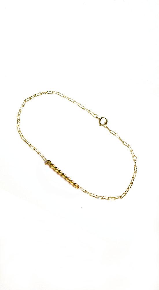 Twisted Band Bracelet