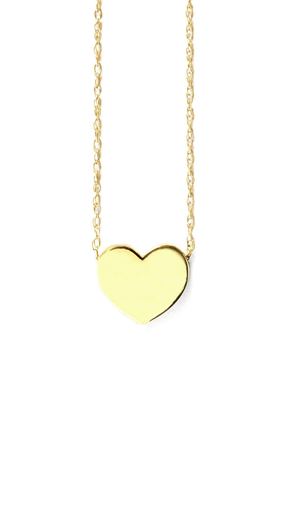 x Heart Pendant Necklace